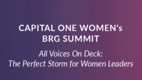 EVENT: Sept. 20th | Capital One Women's BRG Summit