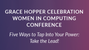 EVENT: Oct. 4th | Grace Hopper Celebration Conference