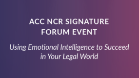 EVENT: May 17th | ACC National Capital Region Signature Forum
