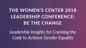 EVENT: April 14th | The Women's Center 2018 Leadership Conference